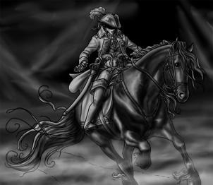 18th century rider