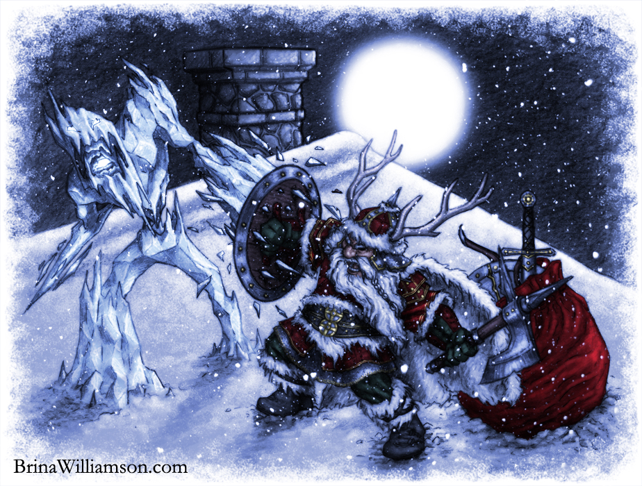 The Battle For Christmas Scribblings Of Brina Williamson