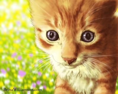 2007. Easter Kitten