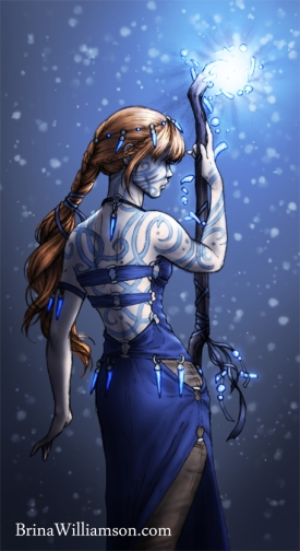 2011. Blue Wizard