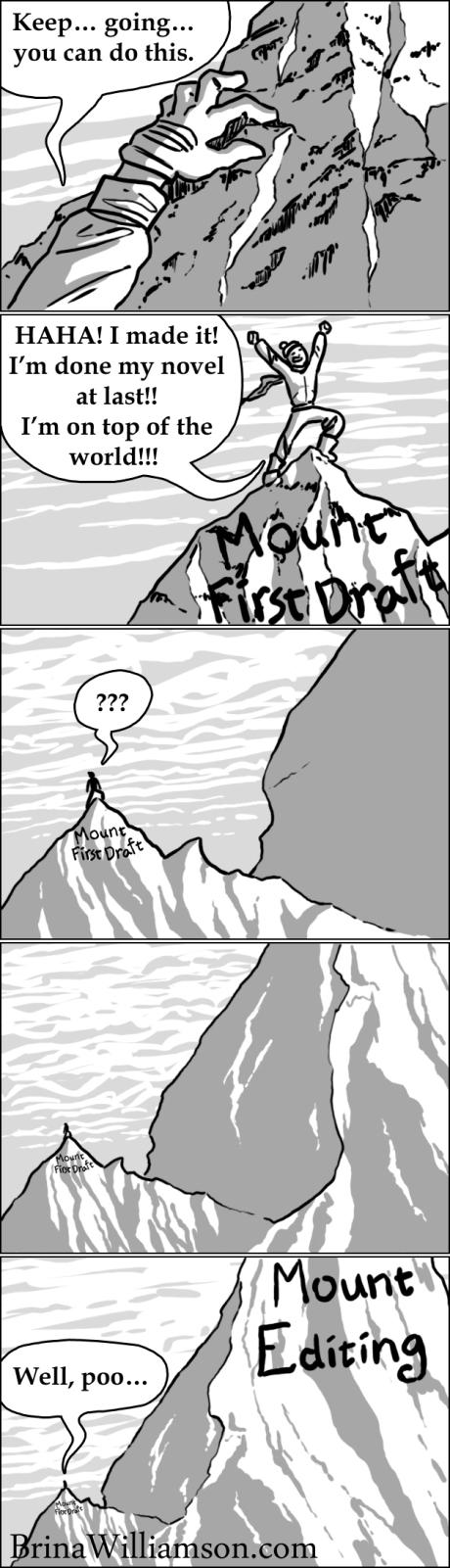 Mount Writing
