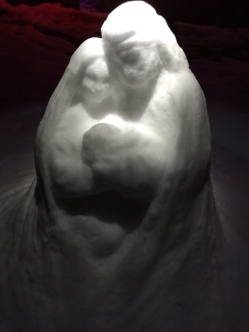 Nativity Snow Sculpt 3