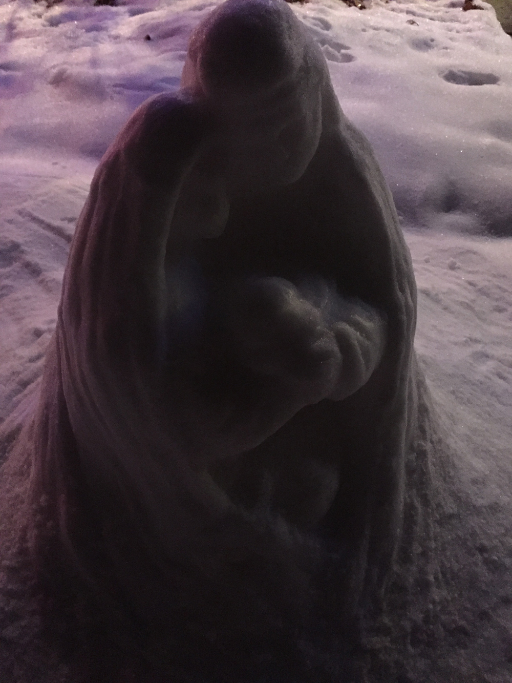 Nativity Snow Sculpt 7
