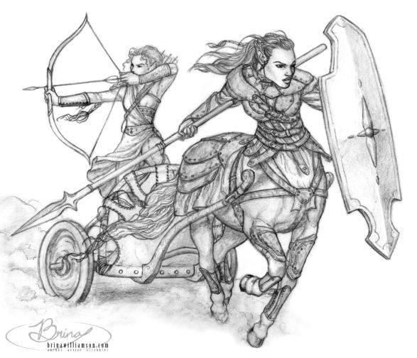 2012 Centaur and Elf