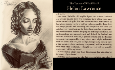 literary portrait, Helen Lawrence